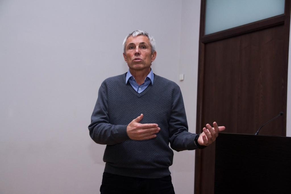 Альпинист Александр Яковенко встретился со студентами ВолГУ