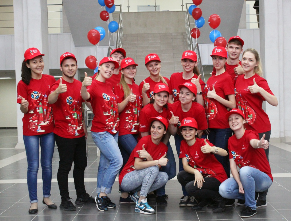 Чемпионат казани по 2018 на волонтеры футболу мира в